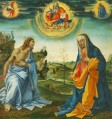 The Intervention of Christ and Mary Christian Filippino Lippi