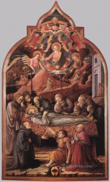 Funeral Of St Jerome Renaissance Filippo Lippi Oil Paintings