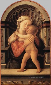 madonna Painting - Madonna And Child Renaissance Filippo Lippi