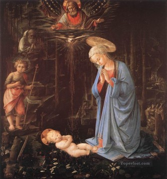 Lippi Deco Art - Madonna In The Forest Renaissance Filippo Lippi