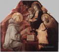The Virgin Appears To St Bernard Renaissance Filippo Lippi