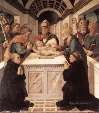 Circumcision Renaissance Filippo Lippi Oil Paintings