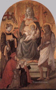 Madonna Del Ceppo Renaissance Filippo Lippi Oil Paintings