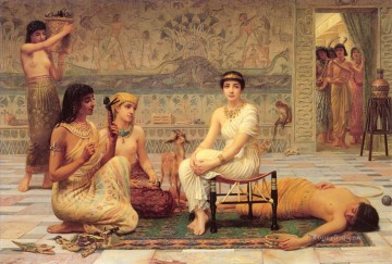Loves Labour Lost Egyptian Edwin Long Oil Paintings