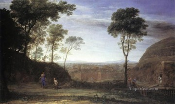 Landscape with Noli Me Tangere Scene Claude Lorrain Oil Paintings