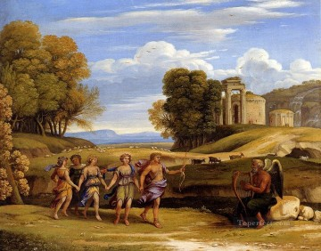 The Dance Of The Seasons landscape Claude Lorrain Oil Paintings