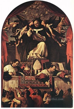 The Alms of St Anthony 1542 Renaissance Lorenzo Lotto Oil Paintings