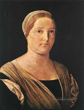 Lotto Deco Art - Portrait of a Woman Renaissance Lorenzo Lotto