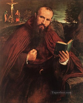 Fra Gregorio Belo di Vicenza 1548 Renaissance Lorenzo Lotto Oil Paintings