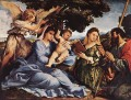 Madonna and Child with Saints and an Angel 1527 Renaissance Lorenzo Lotto