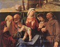 Madonna and Child with Saints Renaissance Lorenzo Lotto