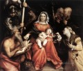 Mystic Marriage of St Catherine 1524 Renaissance Lorenzo Lotto