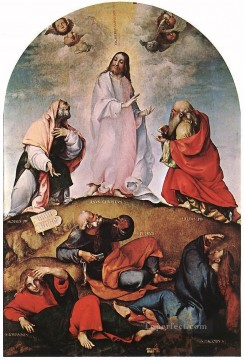Transfiguration 1510 Renaissance Lorenzo Lotto Oil Paintings