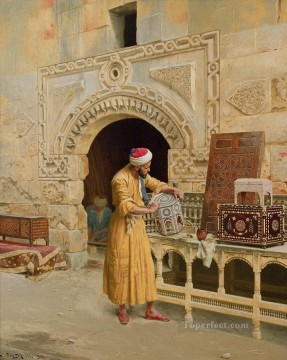 Make Art - The Furniture Maker Ludwig Deutsch Orientalism