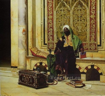 Artworks by 350 Famous Artists Painting - man 2 Ludwig Deutsch Orientalism