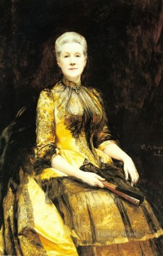 portrait - A Portrait Of Mrs James Leigh Coleman realist lady Raimundo de Madrazo y Garreta
