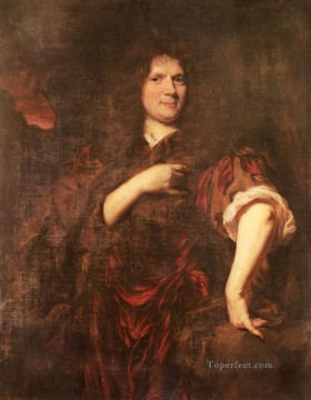 Baroque Canvas - Portrait Of Laurence Hyde Earl Of Rochester Baroque Nicolaes Maes