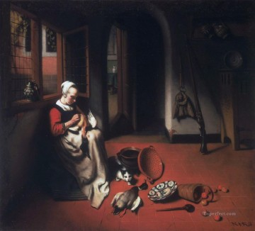Duck Baroque Nicolaes Maes Oil Paintings