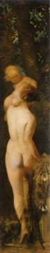 die funf sinne gefuhl nude Hans Makart Oil Paintings