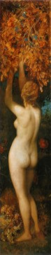 die funf sinne geschmack nude Hans Makart Oil Paintings