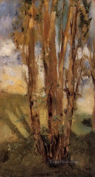 Study of trees Eduard Manet Oil Paintings