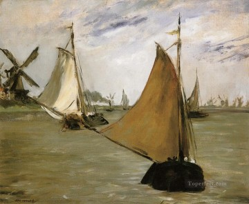 View of Holland Eduard Manet Oil Paintings