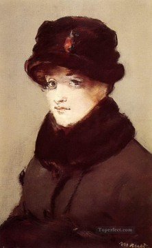Woman in furs Eduard Manet Oil Paintings