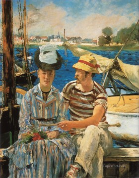 Argenteuil Realism Impressionism Edouard Manet Oil Paintings