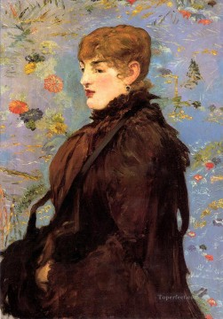 Edouard Art Painting - Autumn Study of Mery Laurent Realism Impressionism Edouard Manet