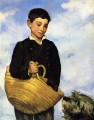Boy with Dog Realism Impressionism Edouard Manet