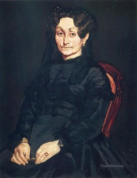 Madame Auguste Manet Eduard Manet Oil Paintings