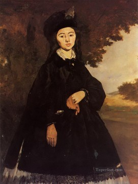 Madame Brunet Eduard Manet Oil Paintings