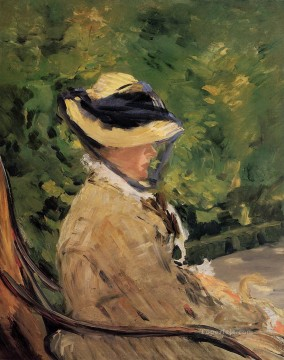 Madame Manet at Bellevue Eduard Manet Oil Paintings