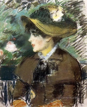 On the Bench Eduard Manet Oil Paintings