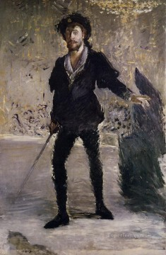 Portrait of Faure as Hamlet Eduard Manet Oil Paintings