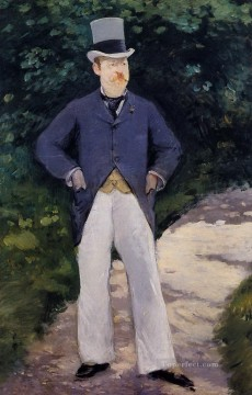 Portrait of Monsieur Brun Eduard Manet Oil Paintings