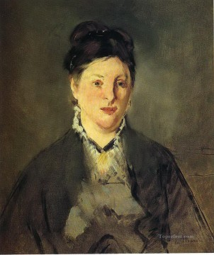Portrait of Suzanne Manet Eduard Manet Oil Paintings