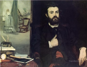 Portrait of Zacharie Astruc Eduard Manet Oil Paintings