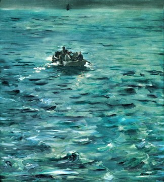 Rochefort Escape Eduard Manet Oil Paintings