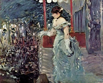 Singer at a Cafe Concert Eduard Manet Oil Paintings