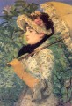 Spring Study of Jeanne Demarsy Realism Impressionism Edouard Manet
