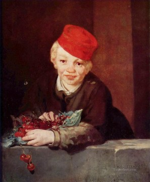 The Boy with Cherries Eduard Manet Oil Paintings