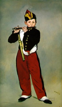 Edouard Art Painting - The Fifer Realism Impressionism Edouard Manet