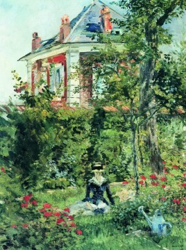 The Garden at Bellevue Eduard Manet Oil Paintings