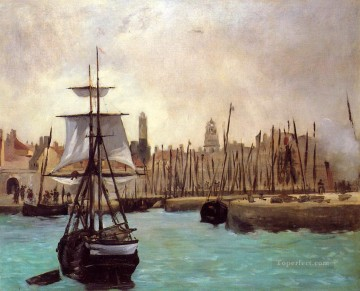 The Port of Bordeaux 2 Eduard Manet Oil Paintings