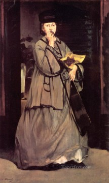 The Street Singer Realism Impressionism Edouard Manet Oil Paintings