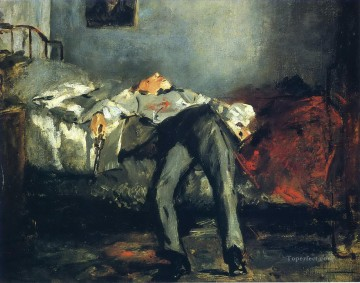 The Suicide Eduard Manet Oil Paintings
