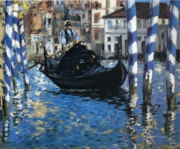 The grand canal of Venice Eduard Manet Oil Paintings