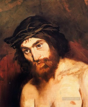 The head of Christ Eduard Manet Oil Paintings