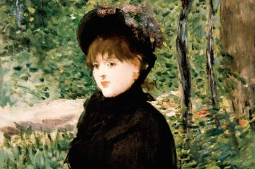 The stroll Eduard Manet Oil Paintings